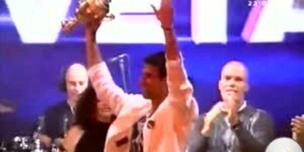 Wimbledon-Sieger Djokovic lässt sich feiern