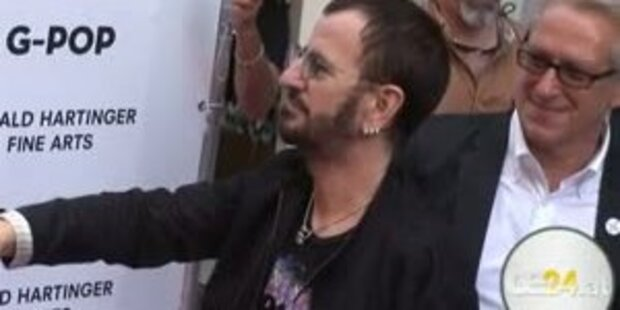 Künstler und Ex-Beatle Ringo Starr in Wien