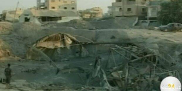 Israel bombardiert Gazastreifen erneut