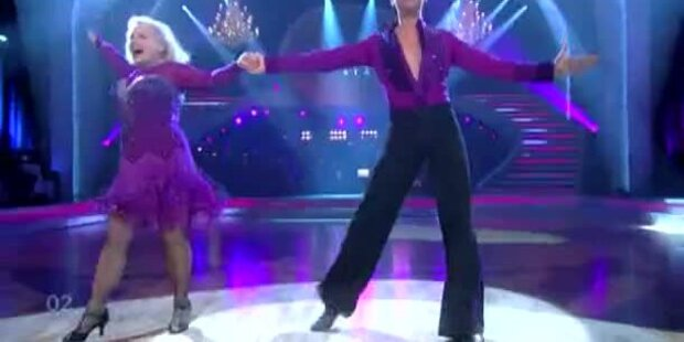 Brigitte Kren & Willi Gabalier tanzen Tango
