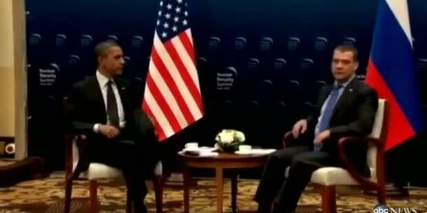Obama: Peinliche Mikrofon-Panne
