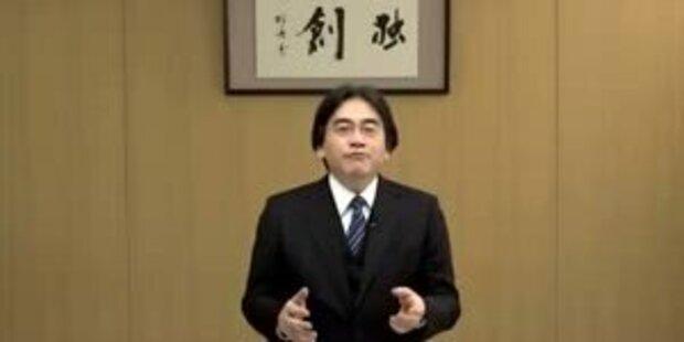 President Satoru Iwata über Wii U Neuerungen