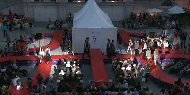 Fashionshow des Modekollegs Herbststraße im MQ