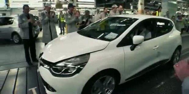 Video zeigt neuen Renault Clio Kombi