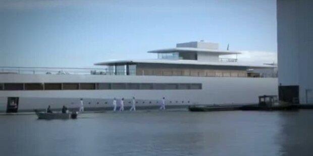 Venus - Steve Jobs Luxus-Jacht ist fertig