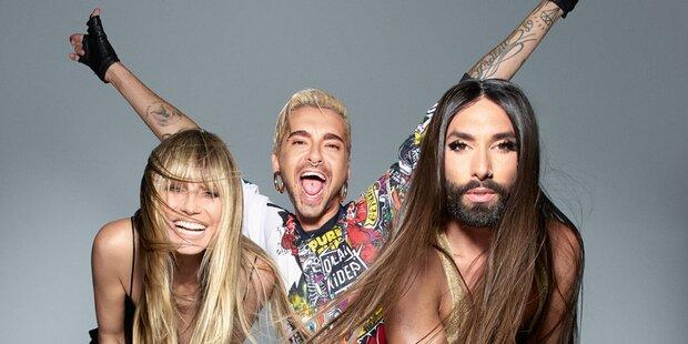 Endlich: Das erste Bild von der Conchita-Klum-Show