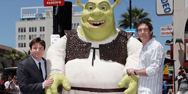 Shrek bekommt eigenen Hollywood-Stern