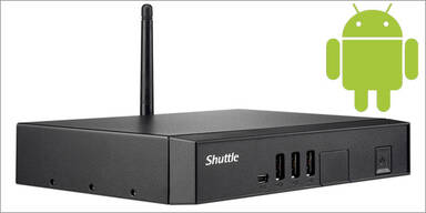 Shuttle greift mit Android-PC an