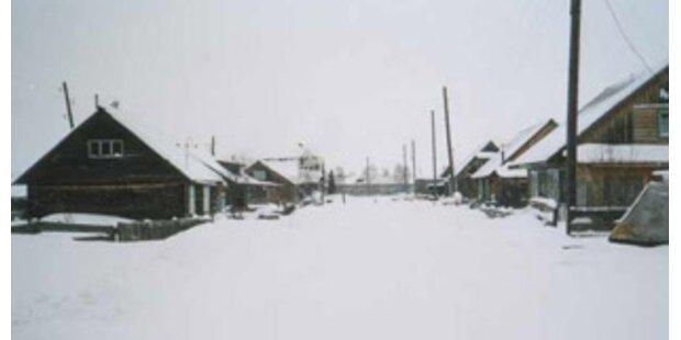 Minus 55 Grad in Sibirien