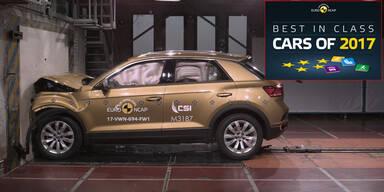 Die sichersten Autos des Jahres 2017