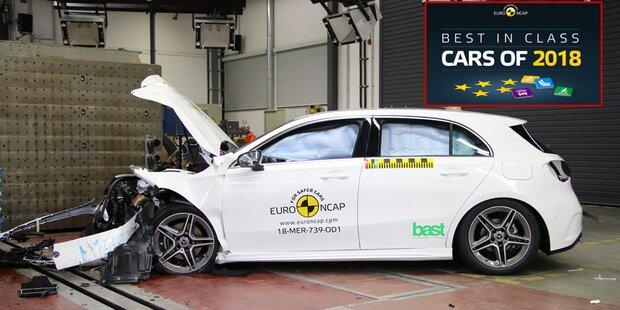 Die sichersten Autos des Jahres 2018
