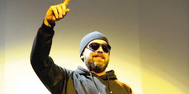 Sido rappt beim Hip-Hop-Open-Air