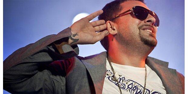 Rapper Sido tritt in