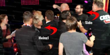 Sido schlägt Heinzl