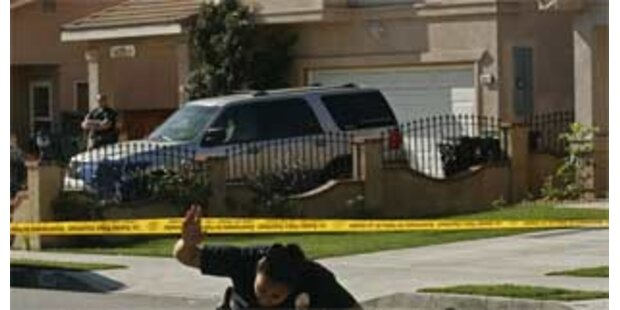 Sieben Tote bei Familiendrama in Kalifornien