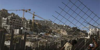 Abbas fordert Ende des israelischen Siedlungsbaus