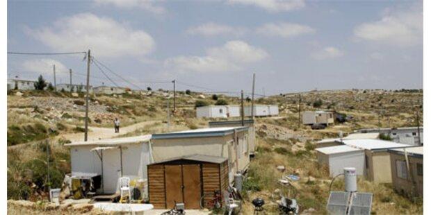 USA verlangen Siedlungsstopp von Israel