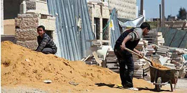 EU-Außenminister verurteilen Wohnungsbau