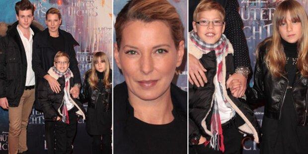 Giulia Siegel zeigt endlich ihre Zwillinge