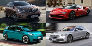 Das sind die ÖSTERREICH-Autos des Jahres