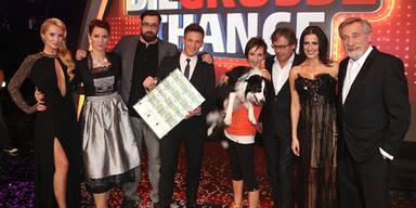 Show-Hund gewinnt die Große Chance