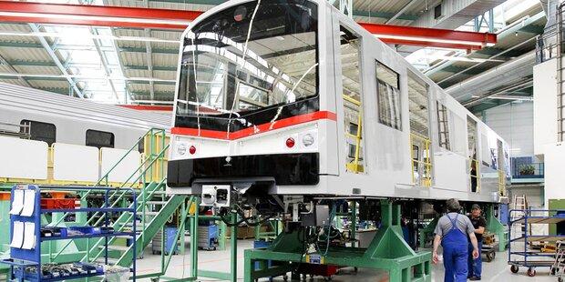 Siemens Österreich liefert 35 U-Bahn-Züge