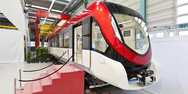 Siemens baut Drei-Klassen-Metro für Riad