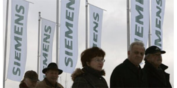 Siemens baut im Ausland um