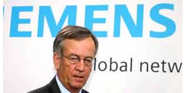 Siemens-Korruptionsaffäre spitzt sich zu