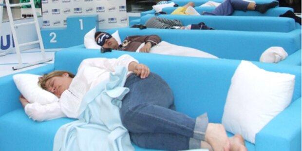 Spanier schlafen um die Wette