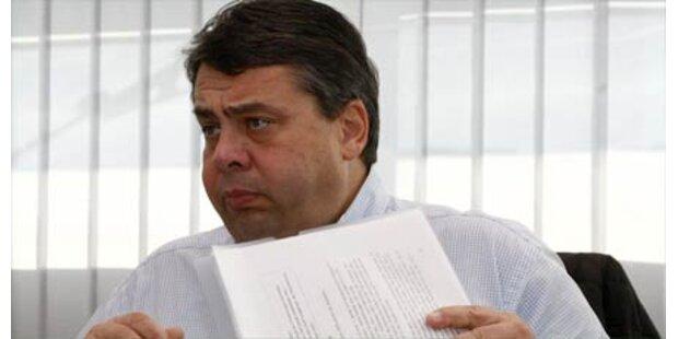 Gabriel sieht SPD in schlimmer Krise