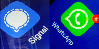 WhatsApp und Signal starten neue Funktionen
