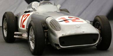 20,2 Millionen Euro für Fangio-Mercedes
