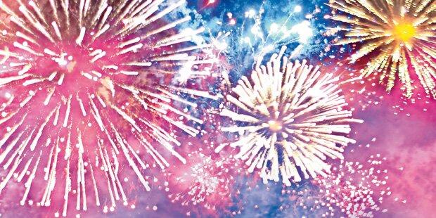 Feuerwerk der Verbote zu Silvester