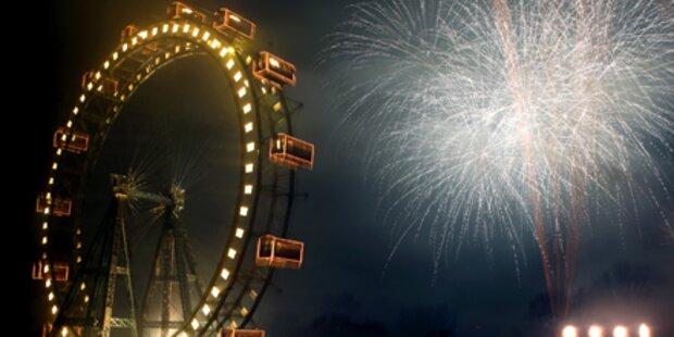 Neujahrs-Walzer in luftiger Höhe