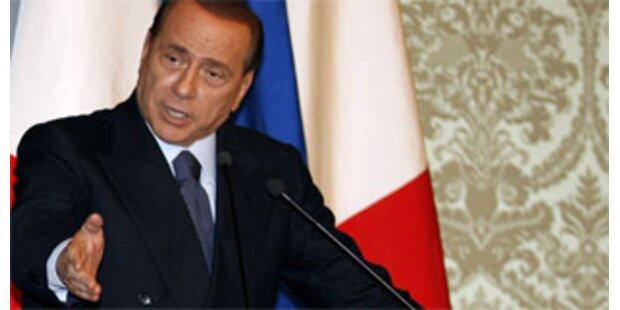 Berlusconi erlitt Schwächeanfall