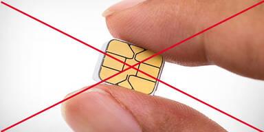 Aus für anonyme SIM-Karten startet