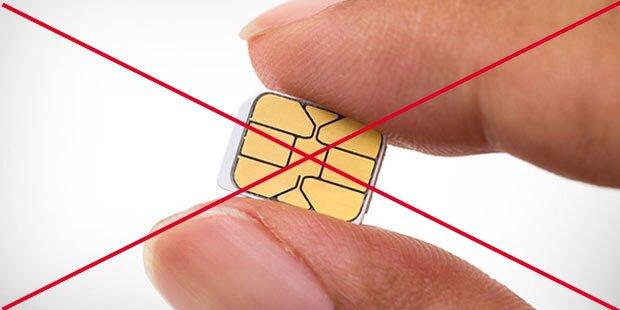 Ende der SIM-Karte bei uns eingeläutet