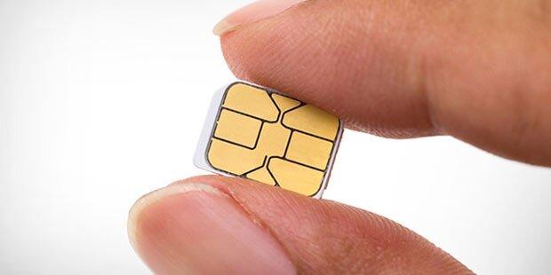 Viele SIM-Karten stecken gar nicht in Handys