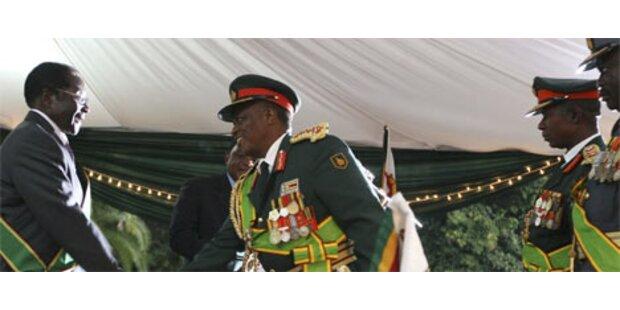 UN-Chef vermittelt in Simbabwe