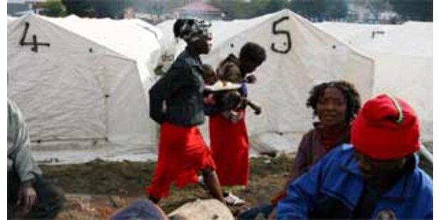 Simbabwe lässt internationale Hilfe zu