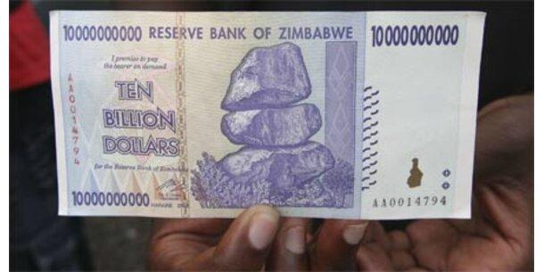Simbabwe schafft eigene Währung ab