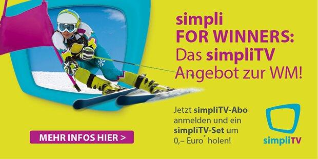 simpliTV Anzeige