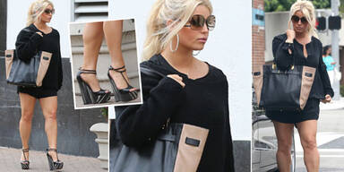 Jessica Simpson zeigt After-Baby-Body
