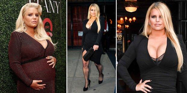 Jessica Simpson: So hat sie 50 Kilo abgenommen