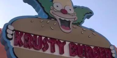 Erste Bilder aus dem Simpsons-Park