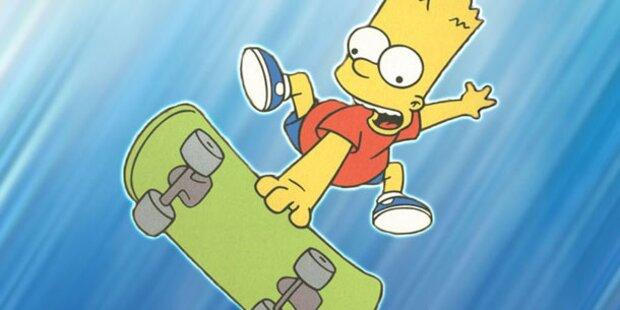 Skate-Spaß mit dem Simpsons-Strolch