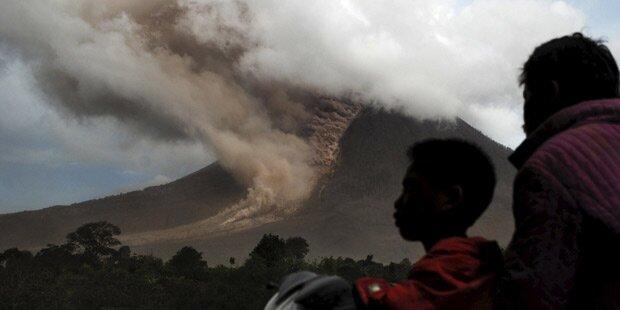 Vulkanausbruch: Tausende auf der Flucht