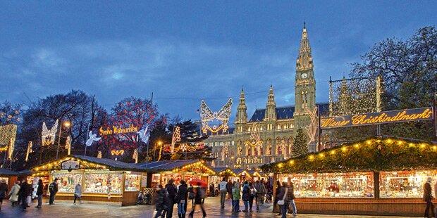 Schwere Vorwürfe gegen Wiener Christkindlmarkt