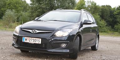 Hyundai i30 blue drive Sporty Wagon im Test
